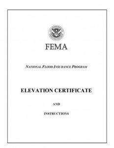 fema elevation certificate